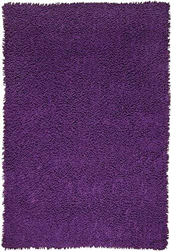 Shagadelic Chenille Collection PURPLE Twist Rug