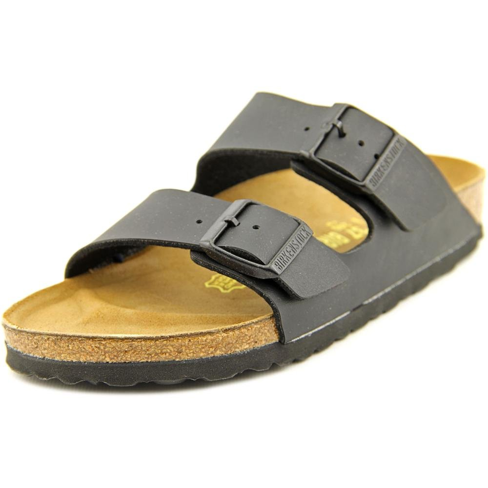 Birkenstock Unisex Arizona Black Birko-flor Sandals - 8-8.5 B(M) US Women by Birkenstock