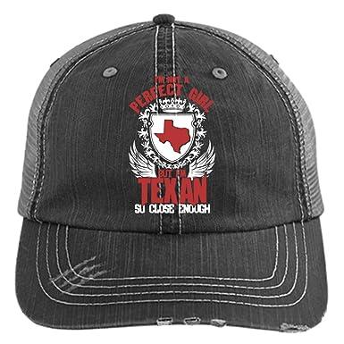 72c1f2100 I'm A Texan Hat, I Love Texas Trucker Cap (Trucker Cap - Black) at ...