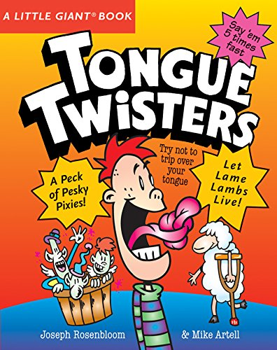 - A Little Giant® Book: Tongue Twisters (Little Giant Books)