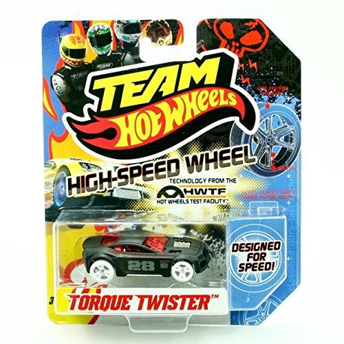 Torque Twister - TORQUE TWISTER HIGH-SPEED WHEELS Team Hot Wheels 2011 Designed For Speed Vehicle (X0142)