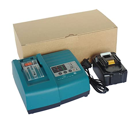 100V-240V AC Werkzeug Akku Ladegerät Li-ion Batterie Makita BL1830 Makita DC18RC