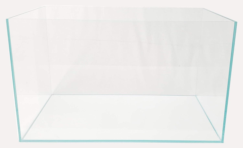 Clear Lifegard Aquatics Ultra Low Iron Crystal Aquarium Beveled Edge 45/° Rimless 17.11 Gallons