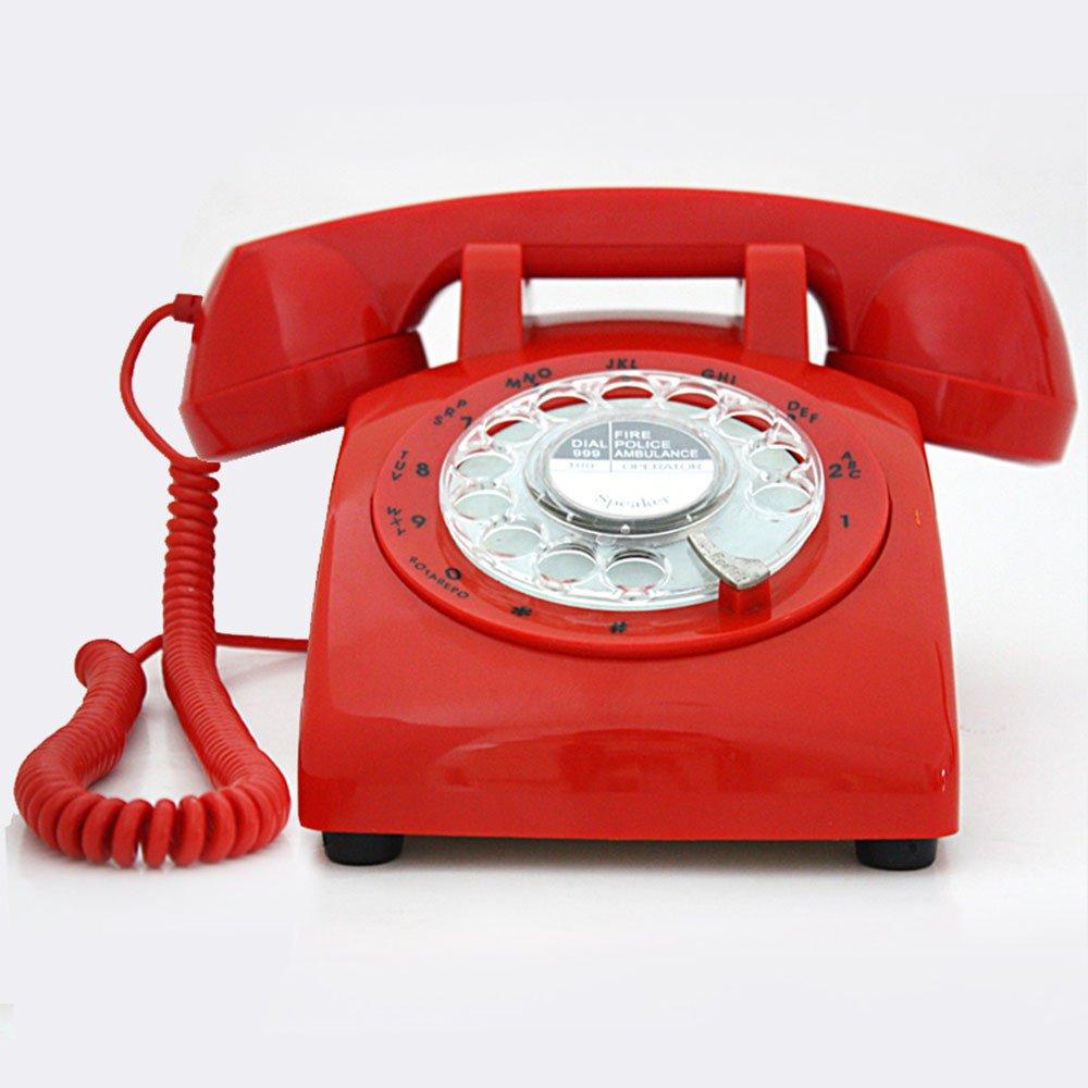 Viejo Tocadiscos Retro teléfono teléfono Antiguo Tocadiscos ...