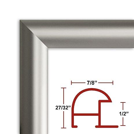 Amazon 20 X 60 Satin Silver Poster Frame Profile 16 Custom