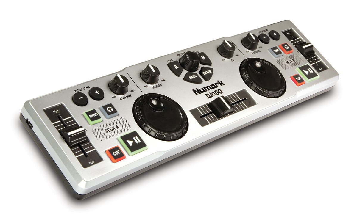 Top 10 Best Dj Mixing Controllers For Beginners 2018 2019 On Numark Mixtrack Pro Wiring Diagram 2 Go Ultra Portable Usb Controller Mac Or Pc