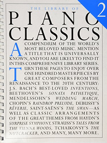 Amsco Music - The Library of Piano Classics 2