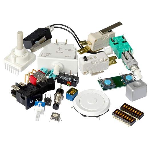 Kemo S009 Schalter Und Taster Set Mit Ca 20 Stück Gemischtes Sortiment Verschiedene Größen Und Typen Gewerbe Industrie Wissenschaft