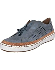 Loafers for Women Sneakers Tassel Slide Hollow-Out Round Toe Low Heel Flats Slip On Casual Shoes