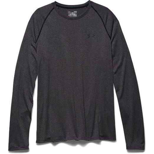 bb0567f8 Under Armour Men's Tech Long Sleeve T-Shirt, Carbon Heather (090)/