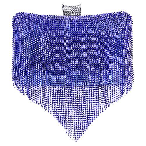 Piel Para Mano 20180604001 S Mujer Azul De Santimon Cartera wCRpdWtqqI