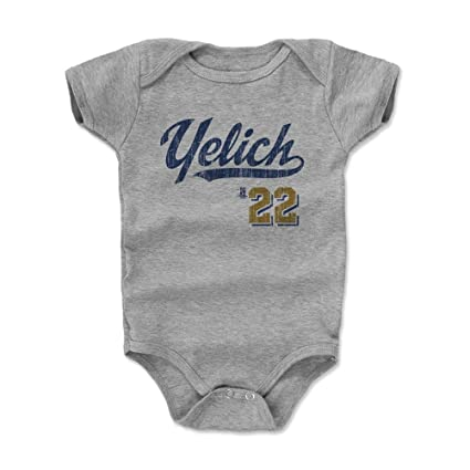 d68133e6717 Amazon.com  500 LEVEL Christian Yelich Baby Clothes   Onesie (3-6