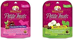 Wellness Petite Treats Small Breed Grain Free Dog Treats, 6-Ounce Bag