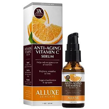 Alluxe 3X Anti-Aging Vitamin C Serum 1 oz