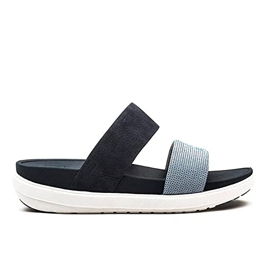 sale shopping online FitFlop FitFlop Loosh Slide Black cheap sale fashion Style FxGL0QtL