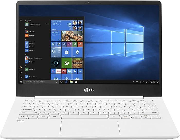 "LG Gram Thin and Light Laptop – 13.3"" Full HD IPS Display, Intel Core i5 (8th Gen), 8GB RAM, 256GB SSD, Back-lit Keyboard - White – 13Z980-U.AAW5U1"