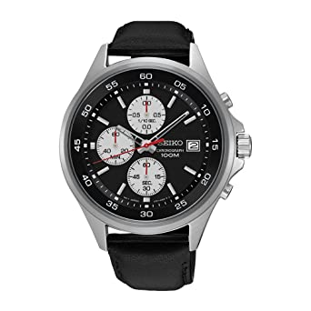 c30627135 Image Unavailable. Image not available for. Colour: Mens Seiko Chronograph  Watch SKS485P1