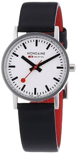 Mondaine Women s A658.30323.11SBB Quartz Classic Leather Band Watch