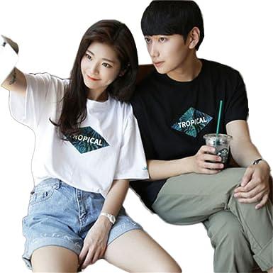 【2018】ユニクロやナイキなどのブランドやワンピースシャツも!夏におすすめのカップルTシャツペアルックコーデって?