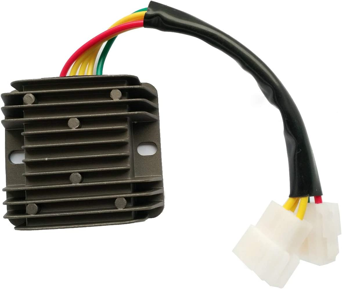 Semoic Rectificador Regulador de Motocicleta 12V para Hyosung GT250 GT650 Comet GT250R GT650R GT650S ST7 32800HN9101 32800HN9110
