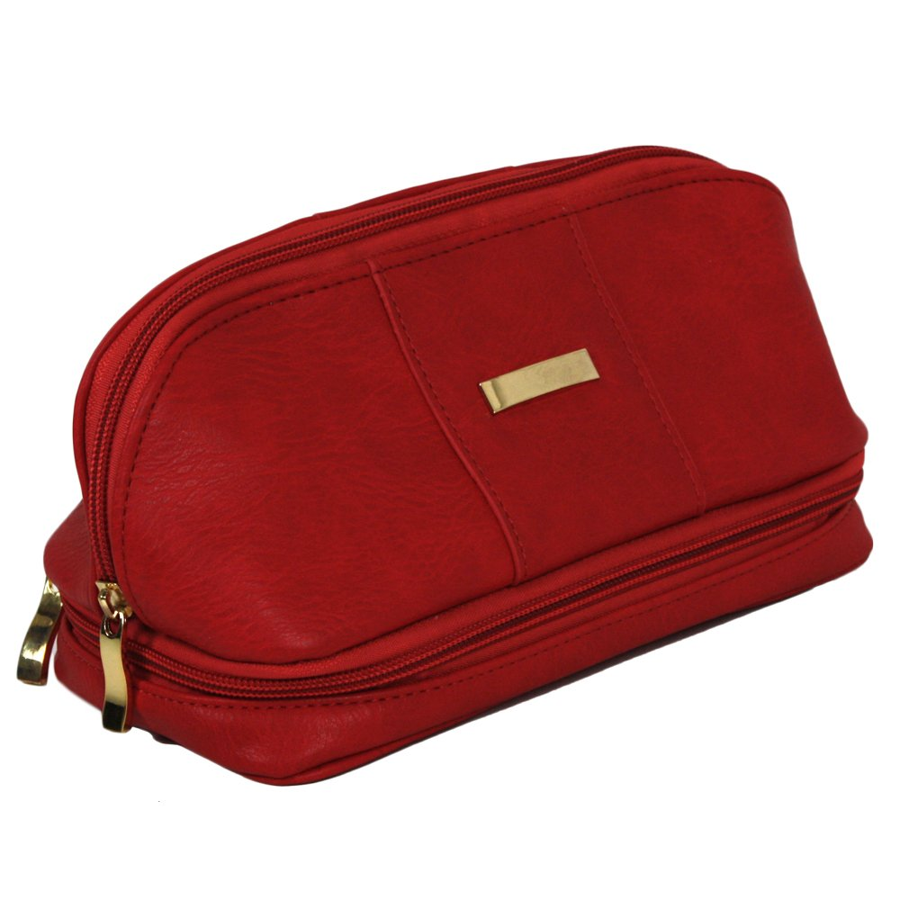 The Weekender Personal Travel Makeup and Jewelry Case Organizer by Bucasi (Image #2)