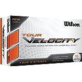 Wilson Staff 2016 Tour Velocity Distance Golf Balls Multi Buy 15 Pack