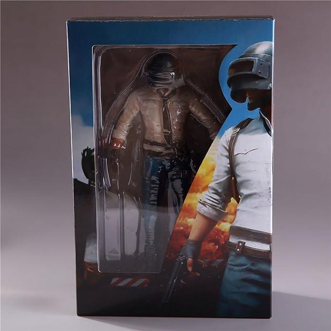 Ocamo Maqueta,Figura de Acción de Juego de Playerunknowns Battlegrounds PUBG,de material PVC,17cm Hombre y 18cm Mujer: Amazon.es: Hogar