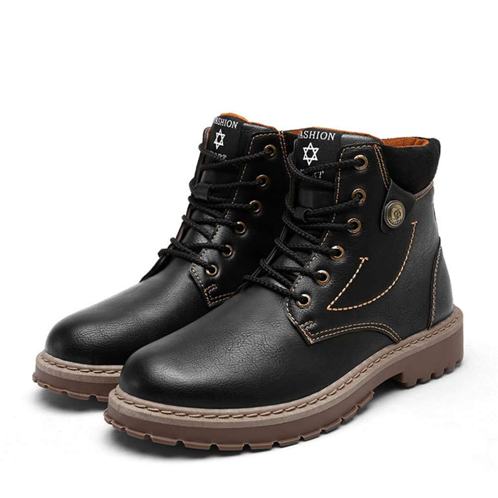 6b78ff91fe4 Amazon.com | CHENSF Men's Martin Boots Casual Ankle Boots wear ...