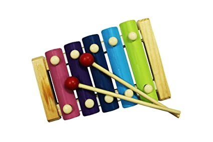 Buy shopaholic cute small multicolor wooden xylophone for kids shopaholic cute small multicolor wooden xylophone for kids musical toy with 5 notes 2700 ccuart Image collections