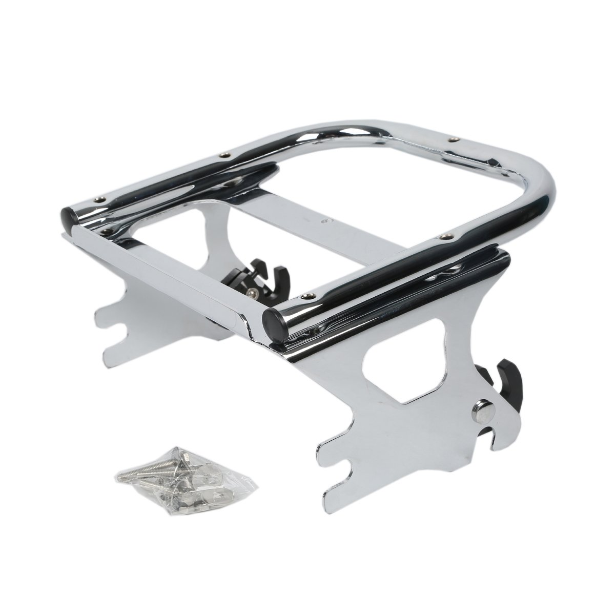 XMT-MOTO Detachable Two-up Tour Pak Pack Mounting Luggage Rack For Harley Touring Road King, FLHT, FLHX, FLTR 1997- 2008