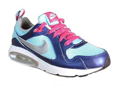 sports shoes 02b9d da736 Nike Sneaker Air Max Trax PS Schuhe Kinder Mädchen 28, Grau - Grau - Bleu
