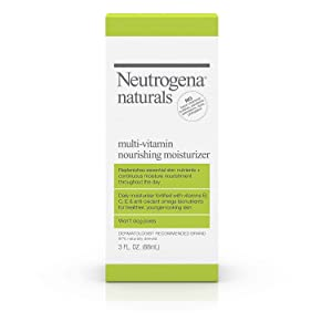 Neutrogena Naturals Multi-Vitamin Nourishing Moisturizer 3 oz (Pack of 3)
