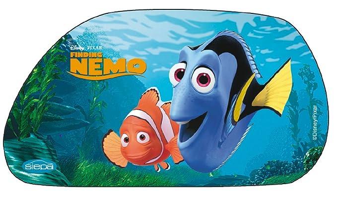 67/x/37/cm Disney Modell Nemo 13710 2 Seitenscheiben-Sonnenschutz in Trapezform