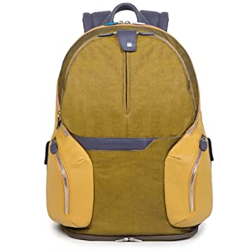 Piquadro Mochila de a diario, amarillo (amarillo) - CA2943OS35/G: Amazon.es: Equipaje