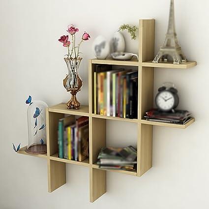 Amazon.com: Living Room Wall Shelf/Shelf Bedroom Wall Rack/Wall ...