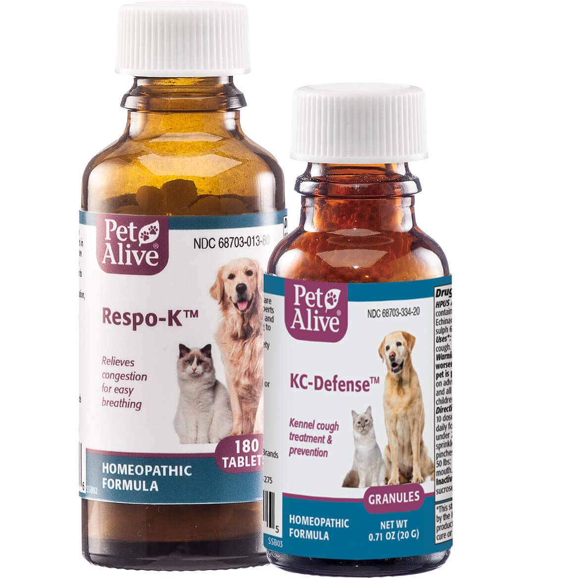 PetAlive Respo-K and KC-Defense ComboPack by PetAlive