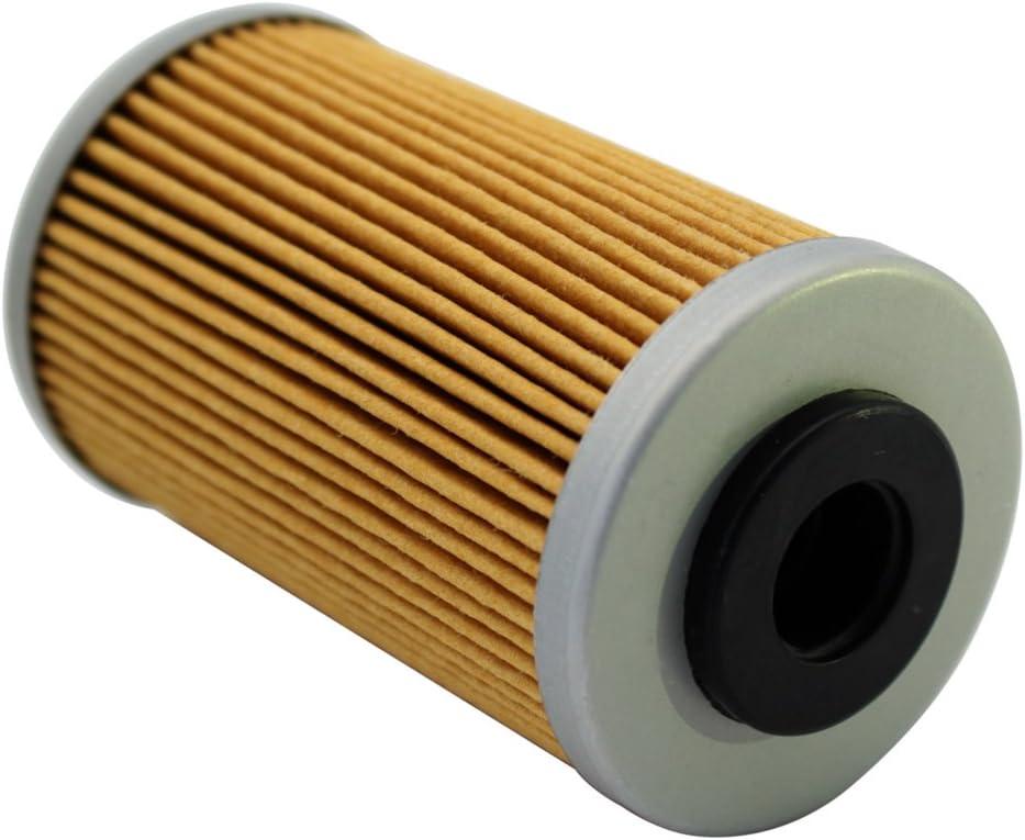 Cyleto Filtre /à huile pour KTM 690 DUKE 690 2008 2009 2010 2011 2012 2013 2014 2015 2016 DUKE 690 R 690R 2013 2014 2015