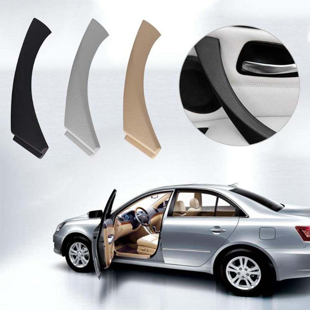 MASO Car Door Handles Interior Door Panel Handle Pull Cover Handrail Black Right for 3 Series E90 E91 316 318 320 325 330 335