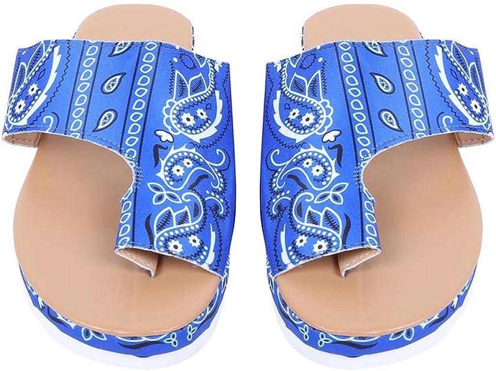 Chanclas Mujer Moda Ortopedicas Comodas Soporte del Arco Chancletas Baño Verano Cool Playa Piscina Ligera Abierta Velcro Sandalias Antideslizante Goma Suela sandalias de mujer