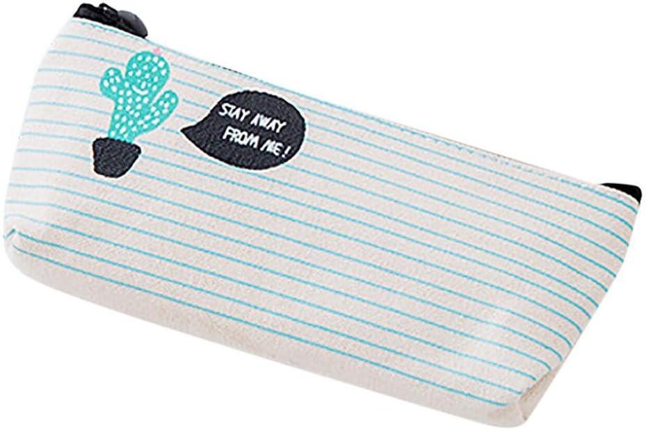 Cover Mason estuche, Niedlich Cactus Bolsa Estuche escolar material regalo, color a: Amazon.es: Oficina y papelería