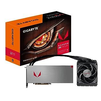 Gigabyte gv-rxvega64 X w-8gd-b AMD Radeon RX Vega 64 XTX ...