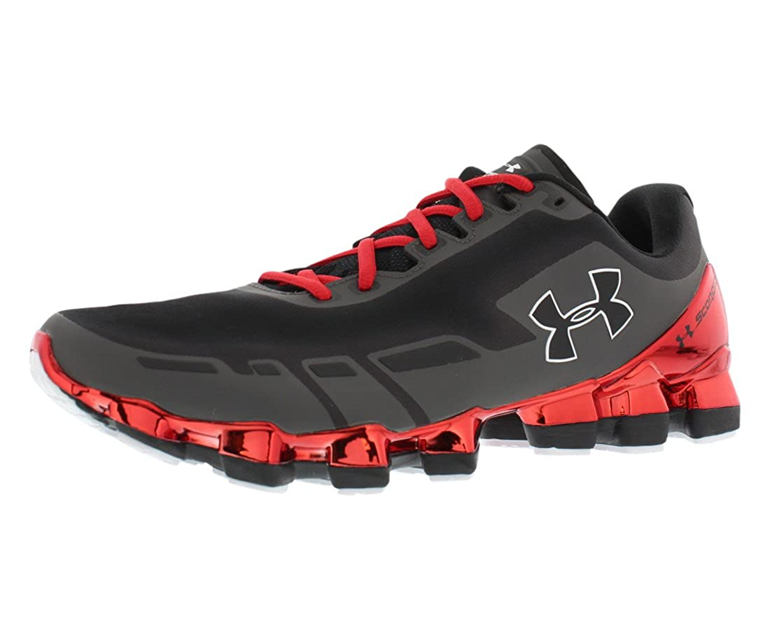 Amazon.com | Under Armour Mens UA Scorpio Chrome Running Shoes 11.5 Charcoal | Road Running