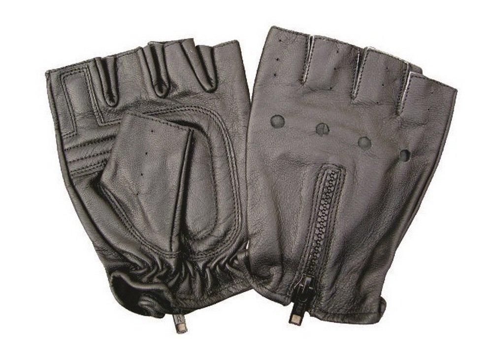 Unisex Adult AL3006 Fingerless glove X-Small Black