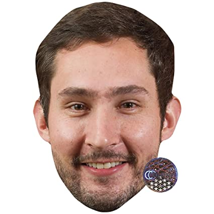 Amazon com: Kevin Systrom Celebrity Mask, Card Face and