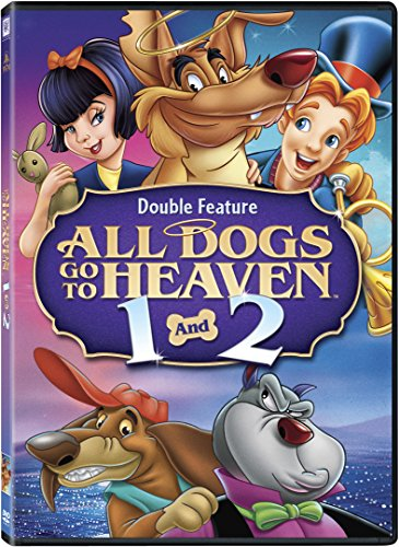 All Dogs Go to Heaven 1 & 2 -  DVD, Rated G, Dom Deluise