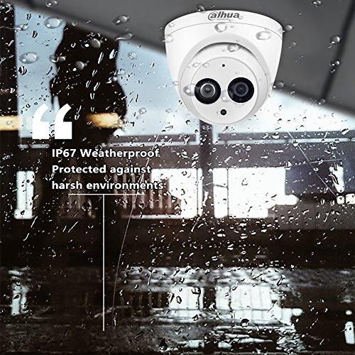 Dahua Cameras Channel Recorder NVR with Indoor Outdoor Waterproof Cameras Setup