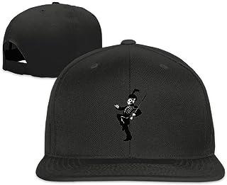 Hittings MCR My Chemical Romance Unisex Fashion Cool Adjustable Snapback Baseball Cap Hat One Size Black