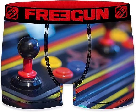 Freegun - Calzoncillos para hombre de microfibra retro Gamer ...