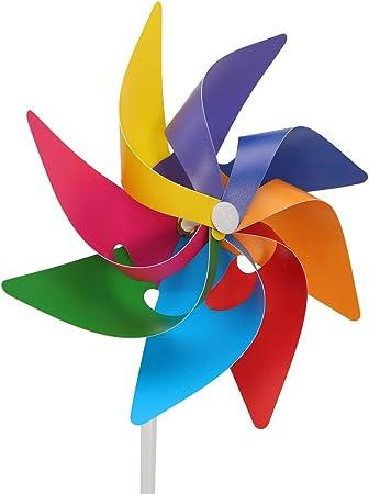 Haven Shop 6 piezas molinillo de viento, molinillo de viento para ...