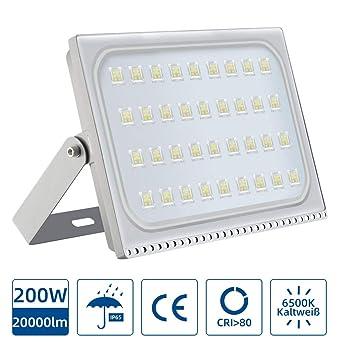Foco LED 200W, Reflector Foco Proyector LED para Exteriores ...